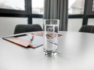Bei uns ist das Glas immer ganz voll